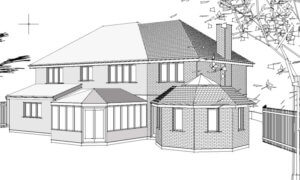 2 storey home extension